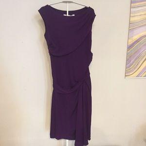 Diane Von Furstenberg Dresses - Diane Von Furstenberg Bec purple silk dress 6